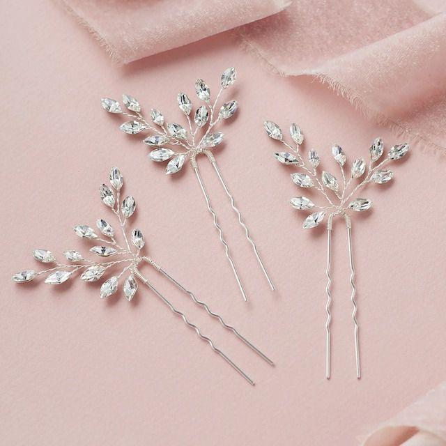 Dareth Colburn Giselle Crystal Hair Pin