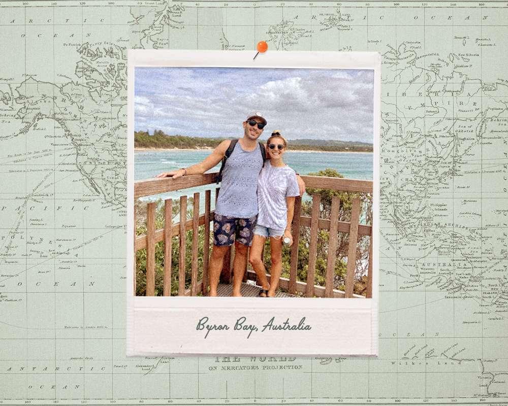 couple in Australia