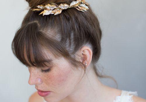 Twigs & Honey Sparklin Fern Leaf Comb