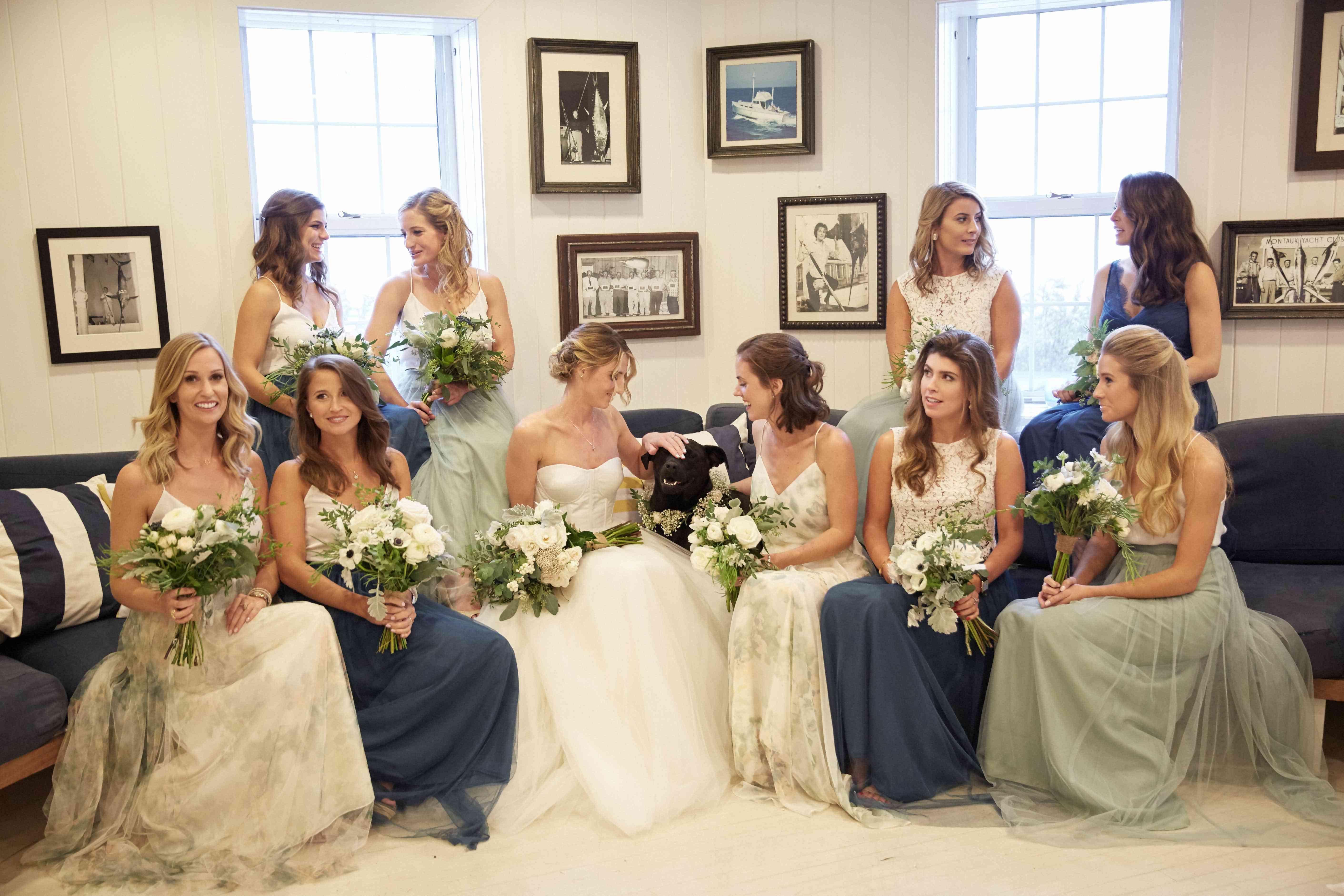 <p>Bridal Party</p><br><br>