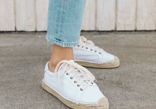 26 Summery Sneakers For The Low Key Bride