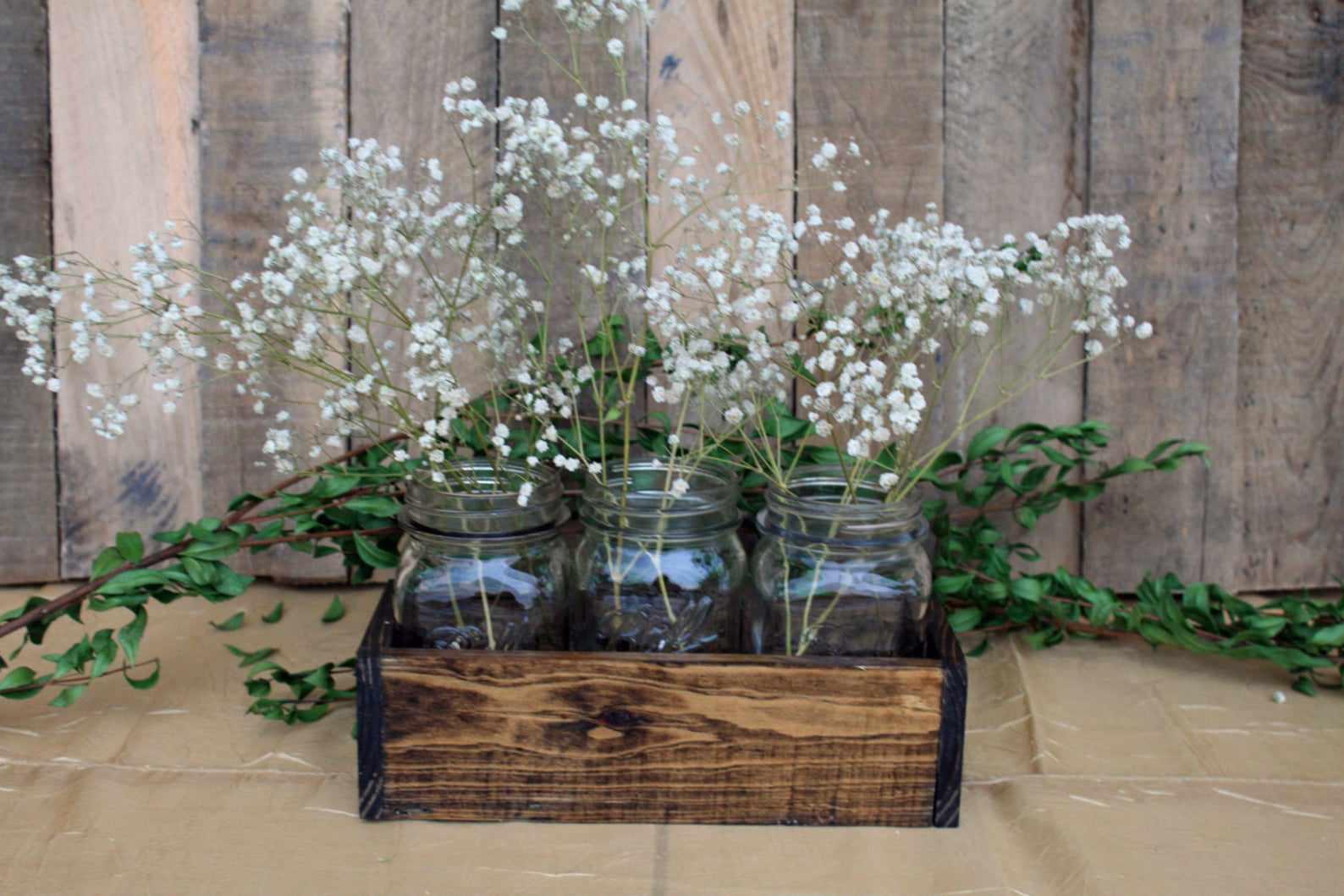 Wooden Flower Box