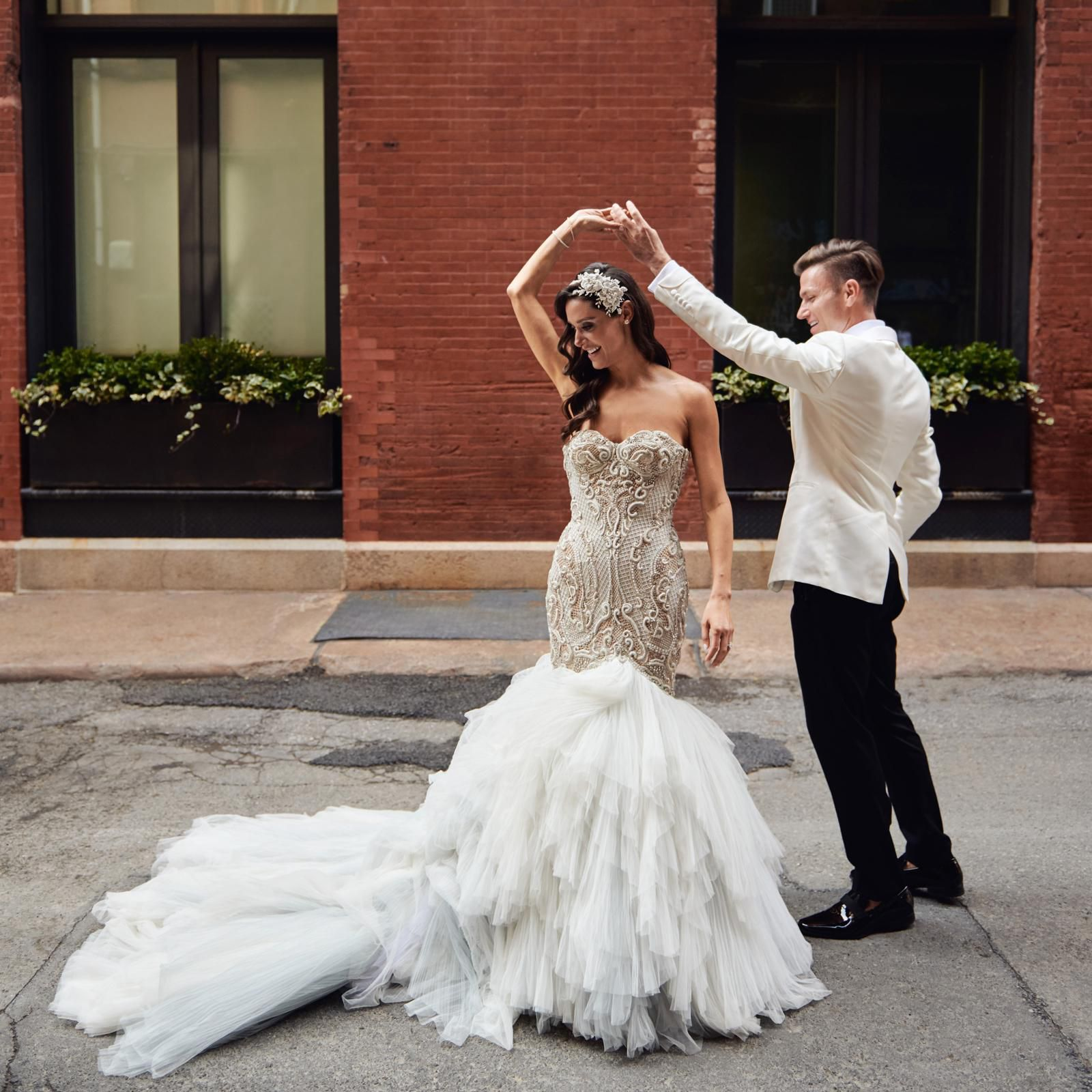 Lindsi Lane S Over The Top Wedding In New York City