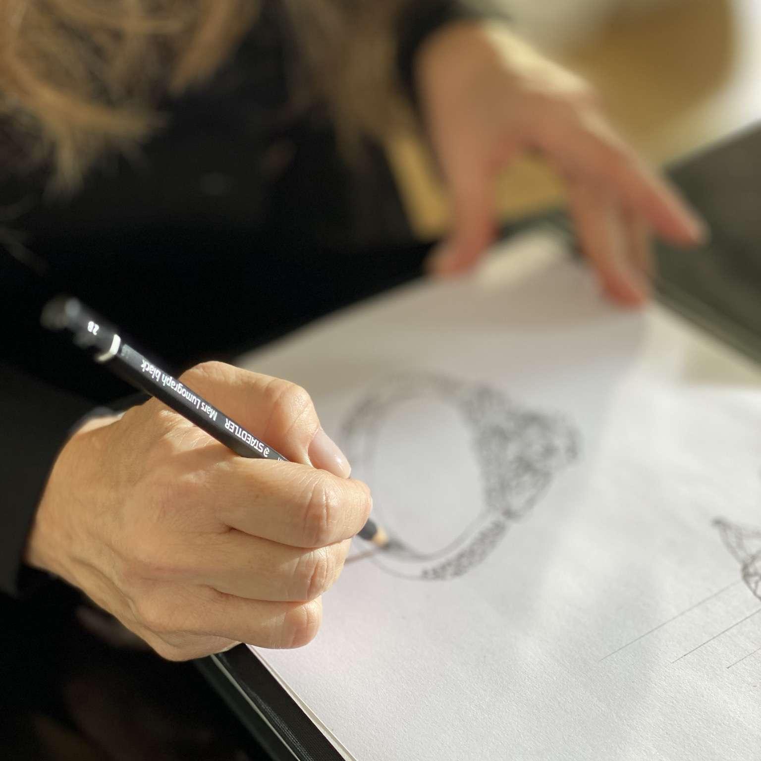 Pnina Drawing