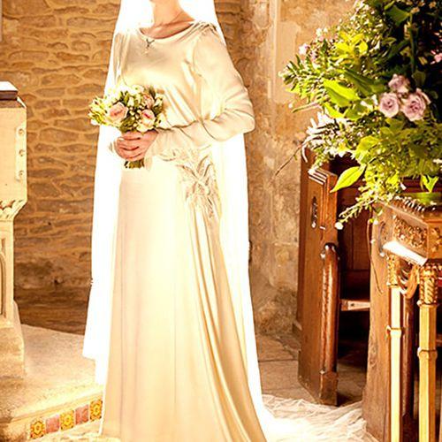 downton abbey weddings lady edith