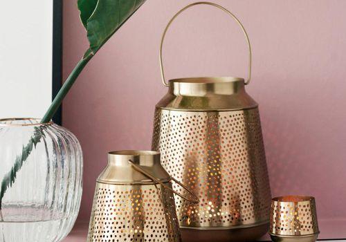 H&M Metal Lanterns