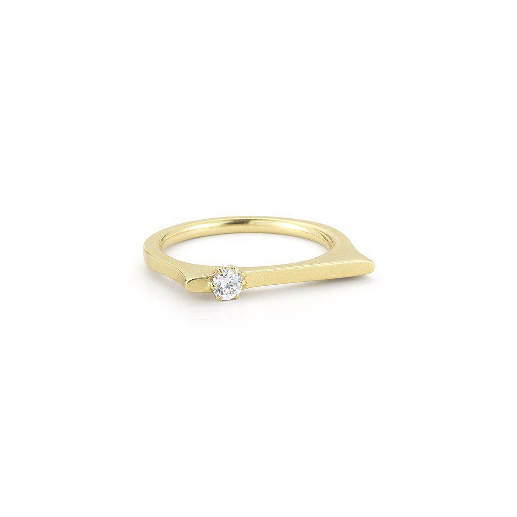 Jade Trau Cambria Flat Top Ring