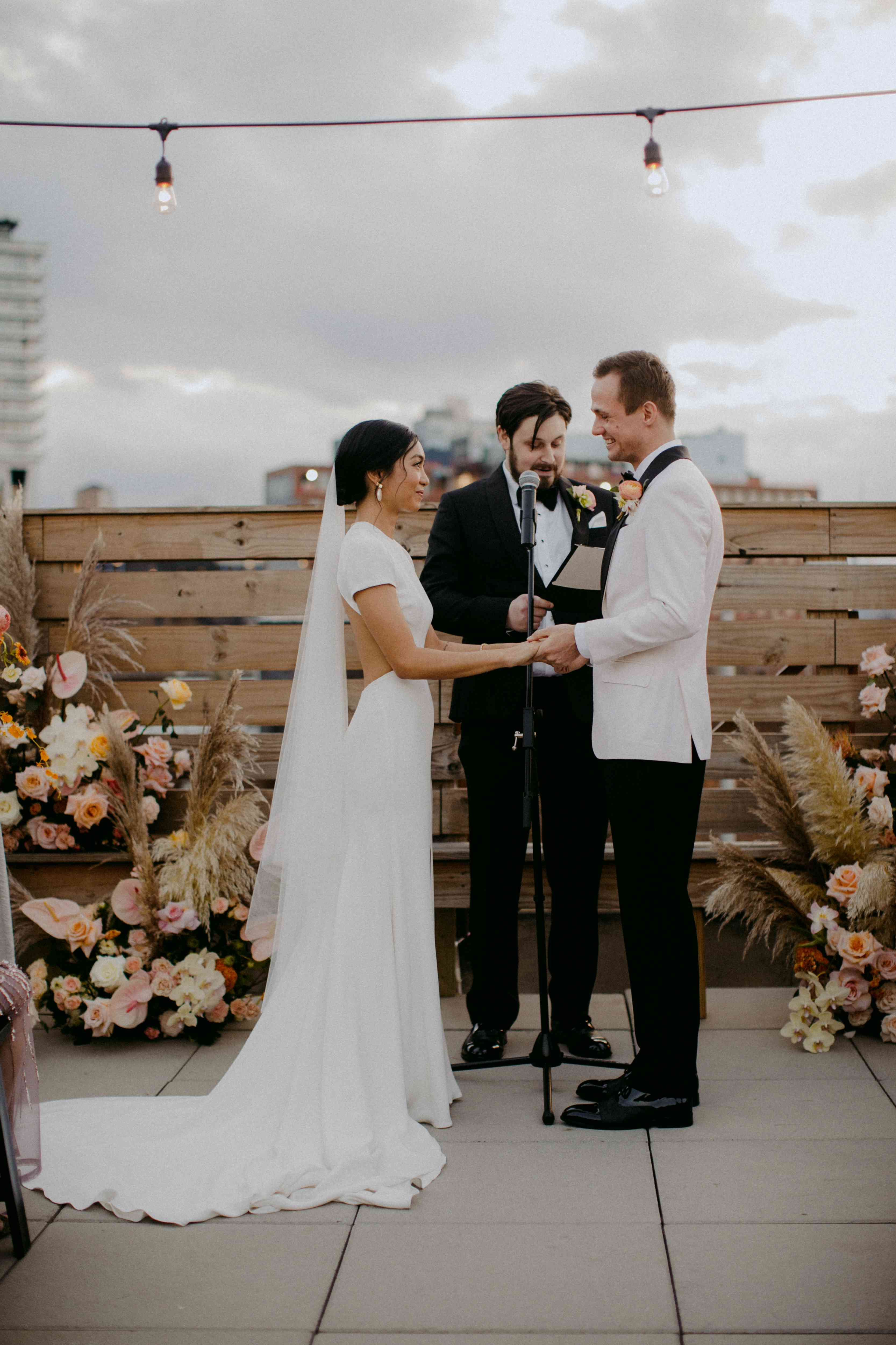 <p>exchanging vows</p><br><br>