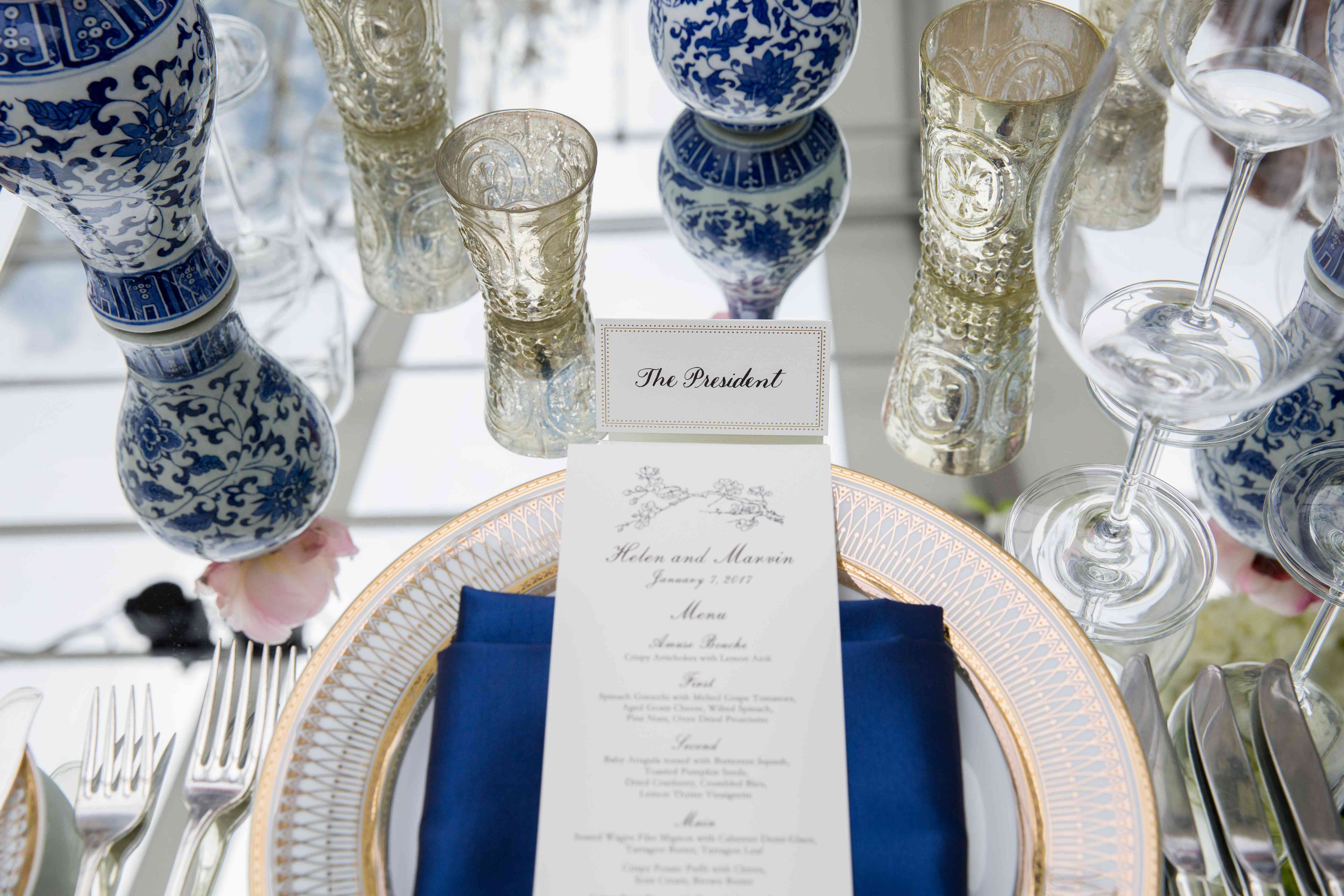 <p>Table Setting and Menu</p><br><br>