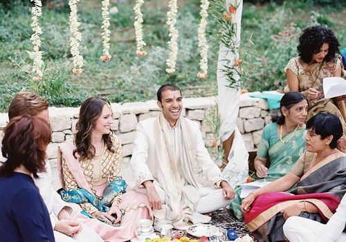 Bilingual Indian wedding