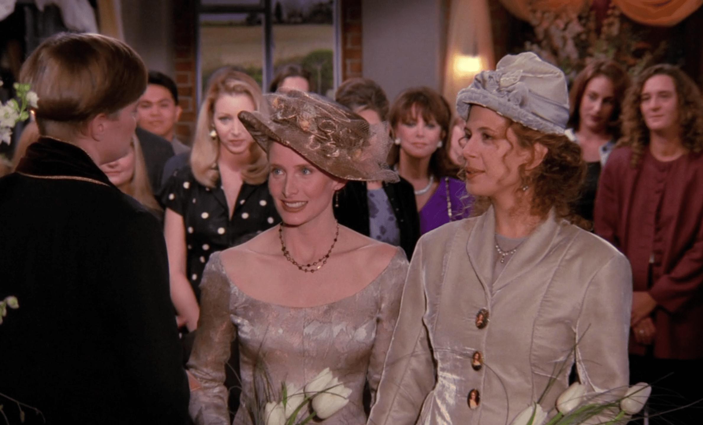 Carol and Susan's Wedding Friends