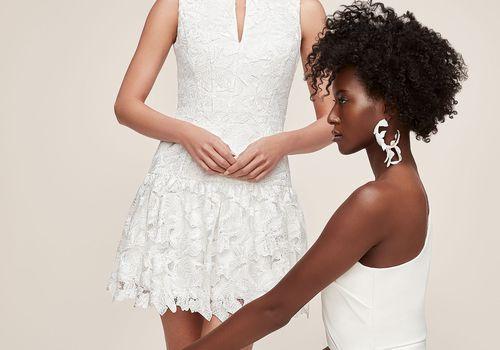 Anne Barge Little White Dress