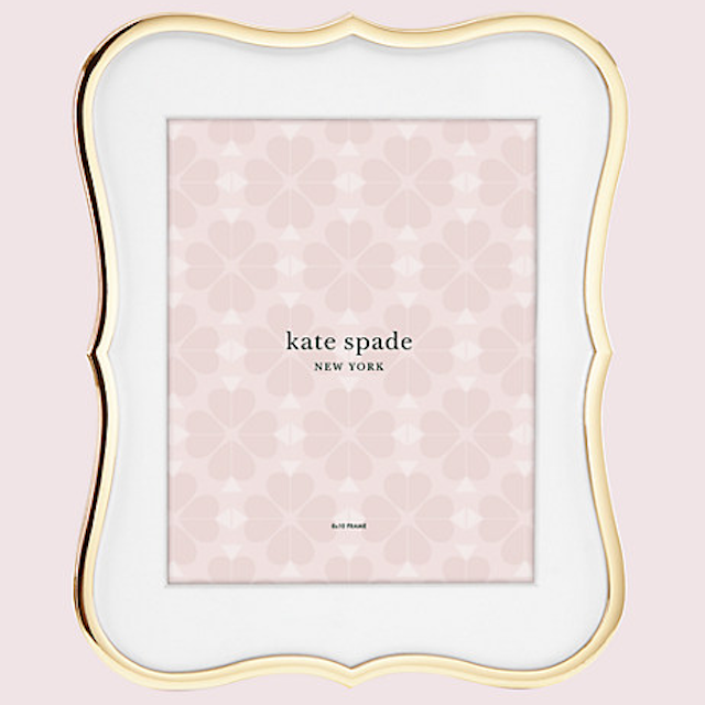 Kate Spade Crown Point Gold 8 x 10 Frame