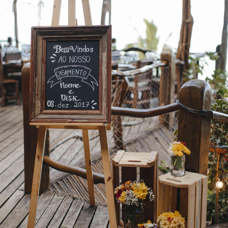 wedding sign wedding decor