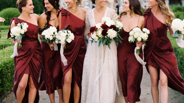 26 Best Burgundy Bridesmaid Dresses of 2021