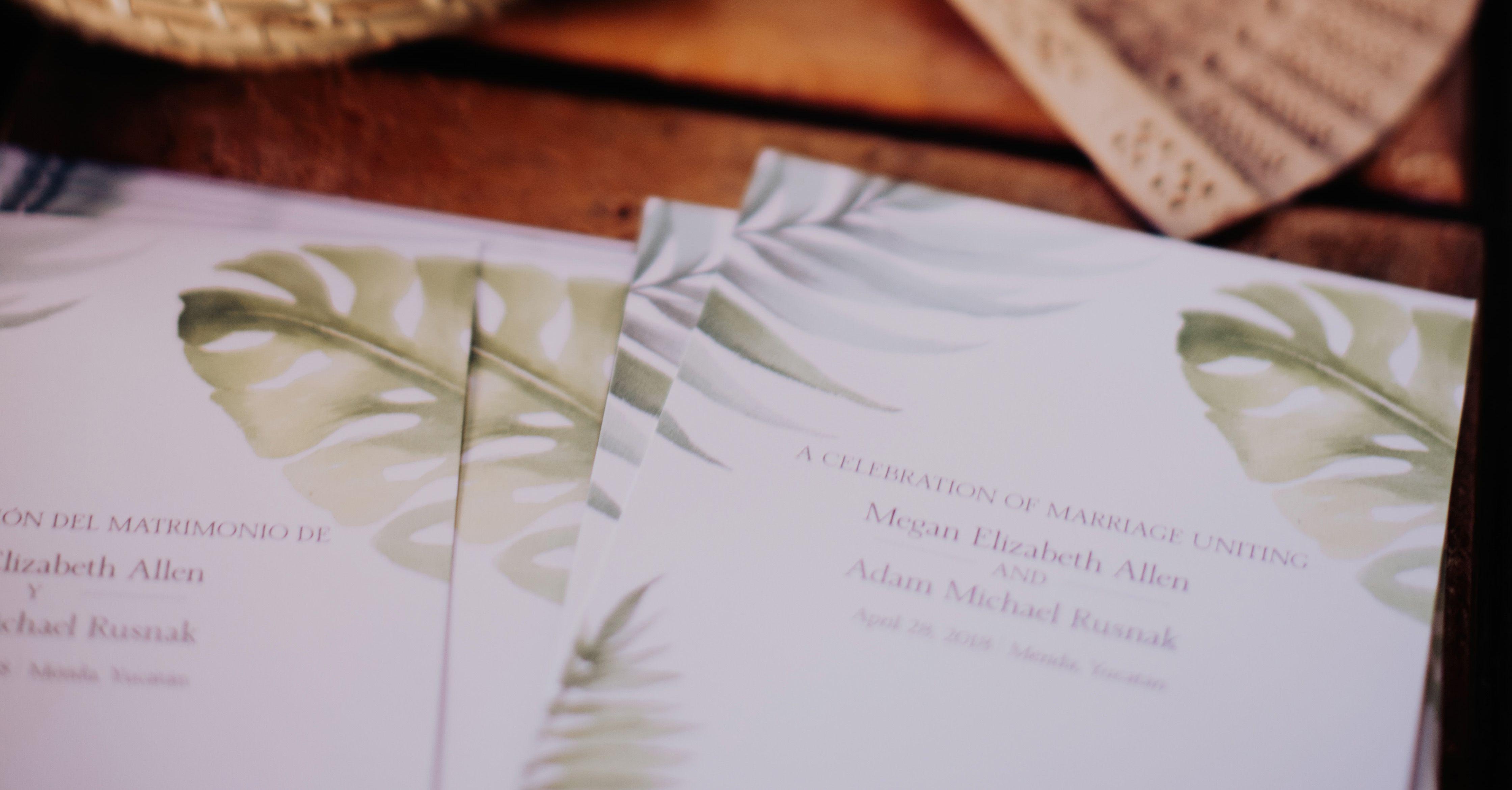 How To Write A Wedding Ceremony Program