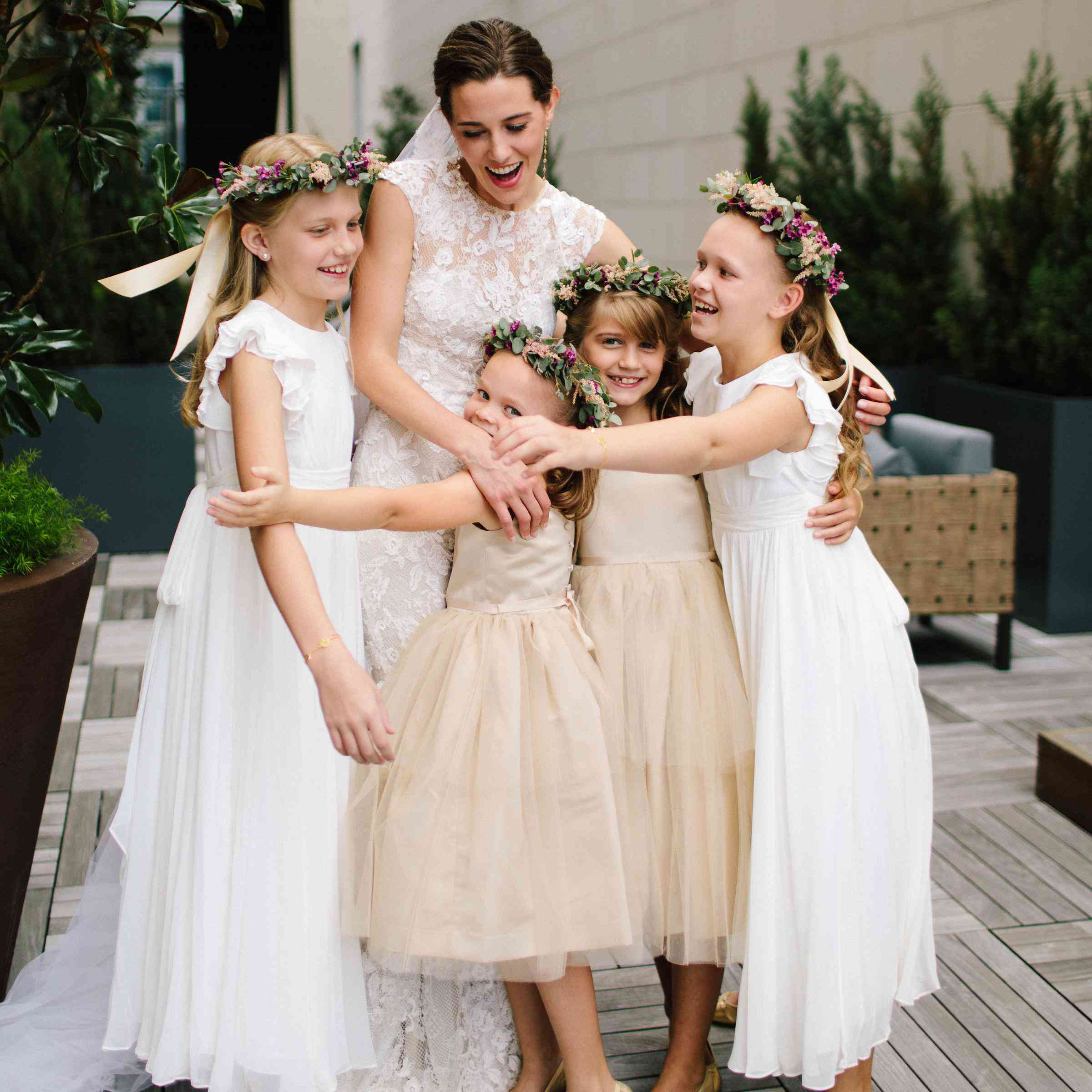 40712c6f06 35 Adorable Flower Girls From Real Weddings