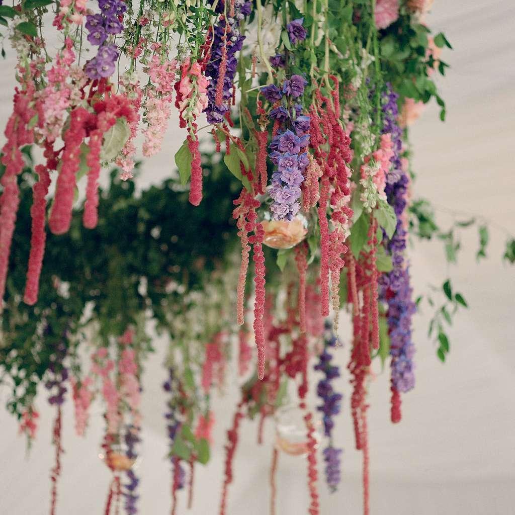 Floral overhang