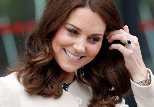 Kate Middleton attends a SportsAid event at the Copper Box Arena in Queen Elizabeth Olympic Park.