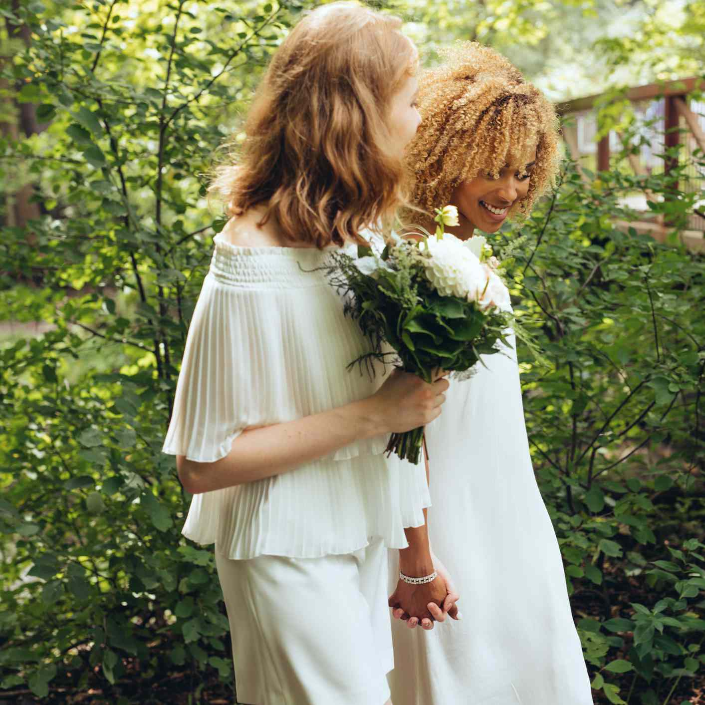 8 Lesbian Couples Share Their Adorable (and Unlikely!) Love Stories