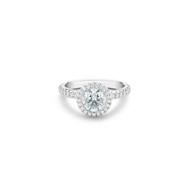 De Beers Aura Round Brilliant Diamond Ring