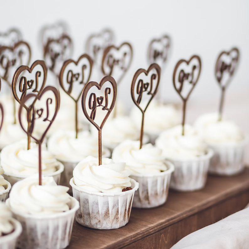 wooden cupcake picks