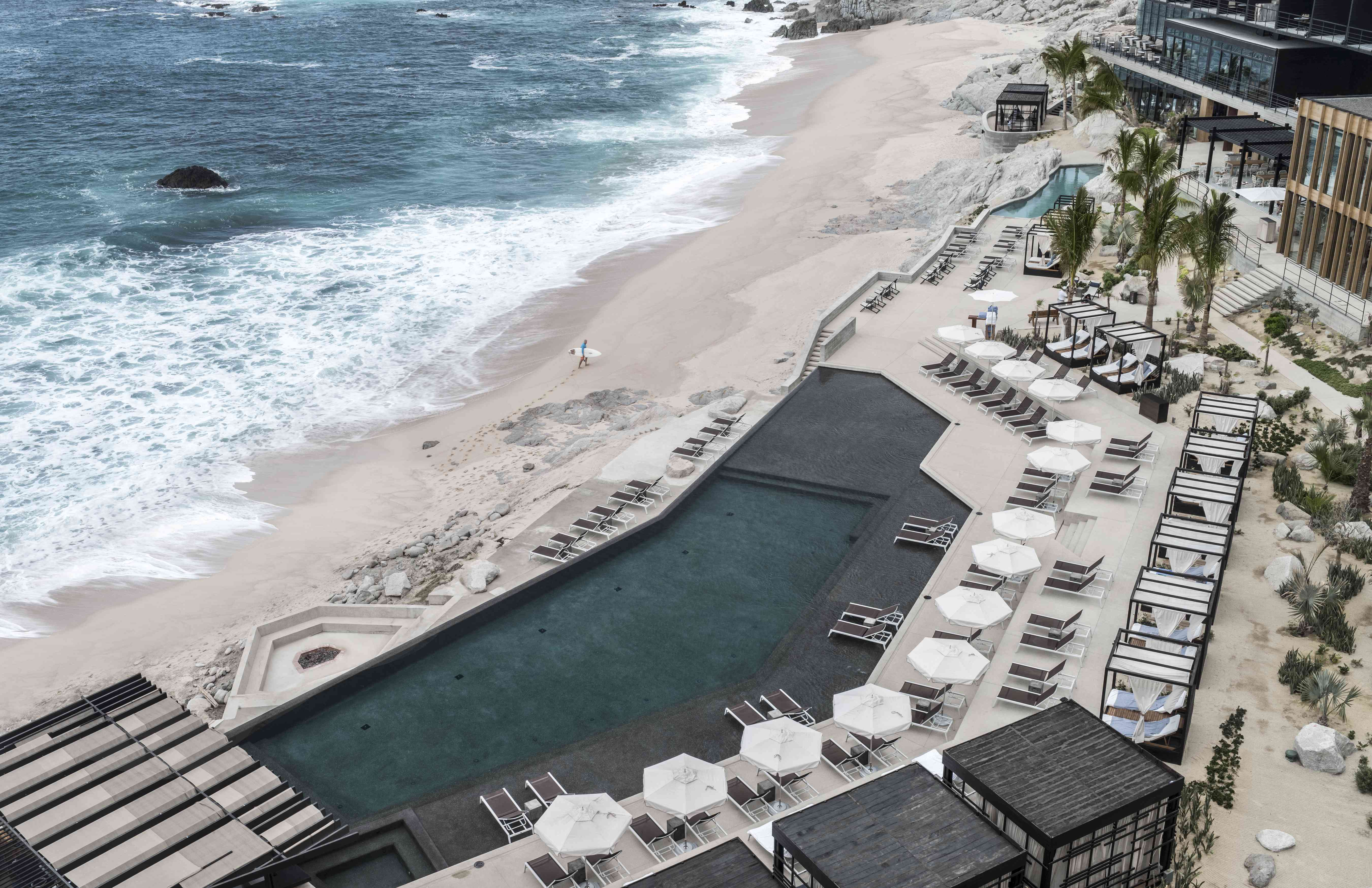 An aerial view of The Cape, a Thompson Hotel, in Mexico.