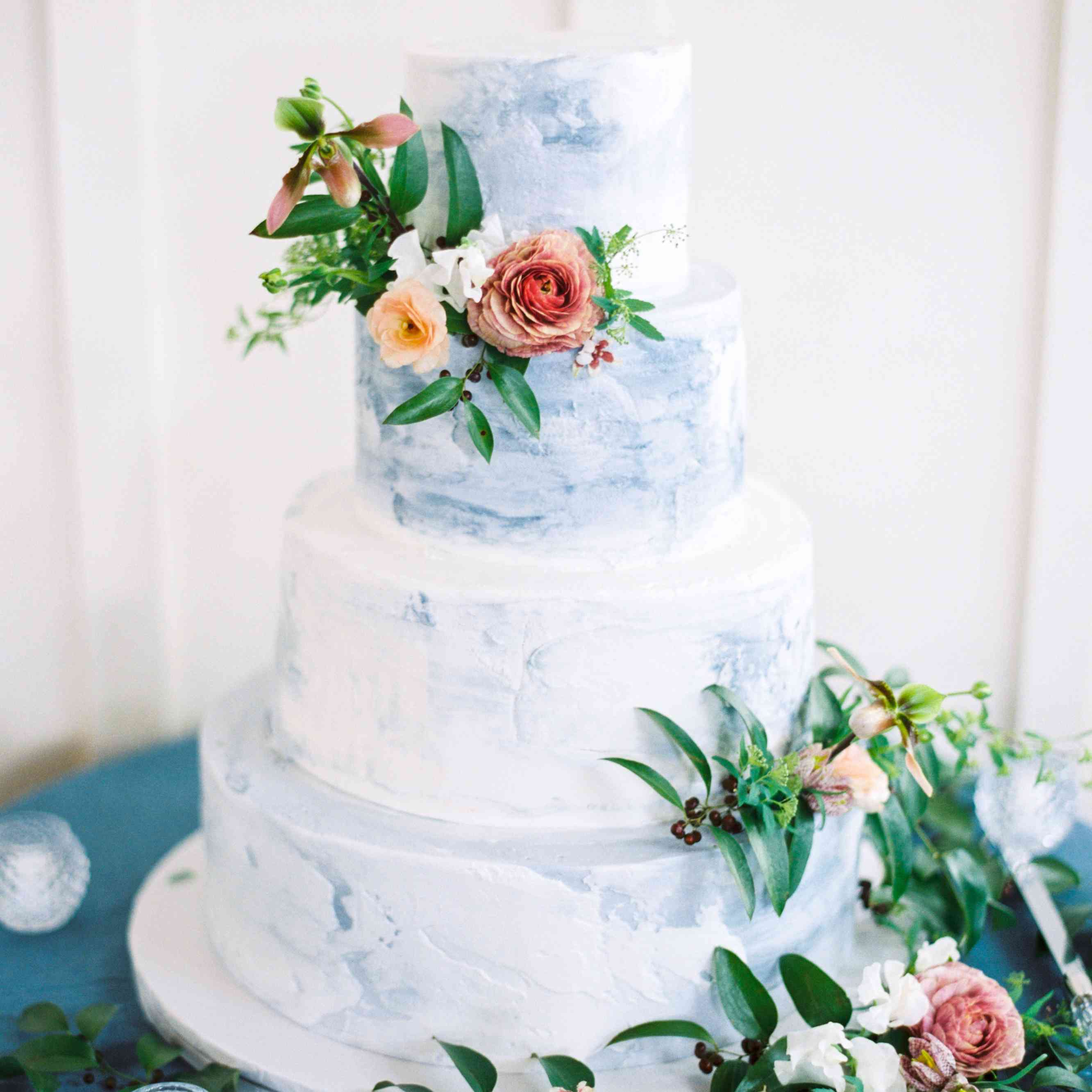 24 Colorful Wedding Cakes That Are Almost Too Pretty To Eat