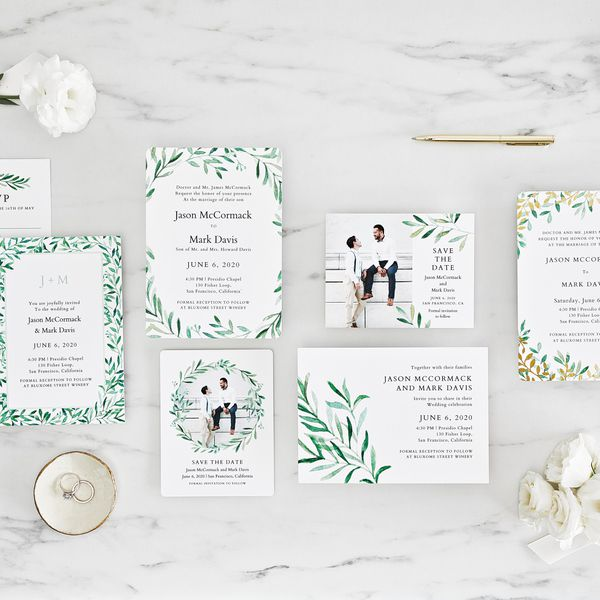 Story Guide To Wedding Invitation Wording: Wondering What To Include In A Wedding Invitation Suite