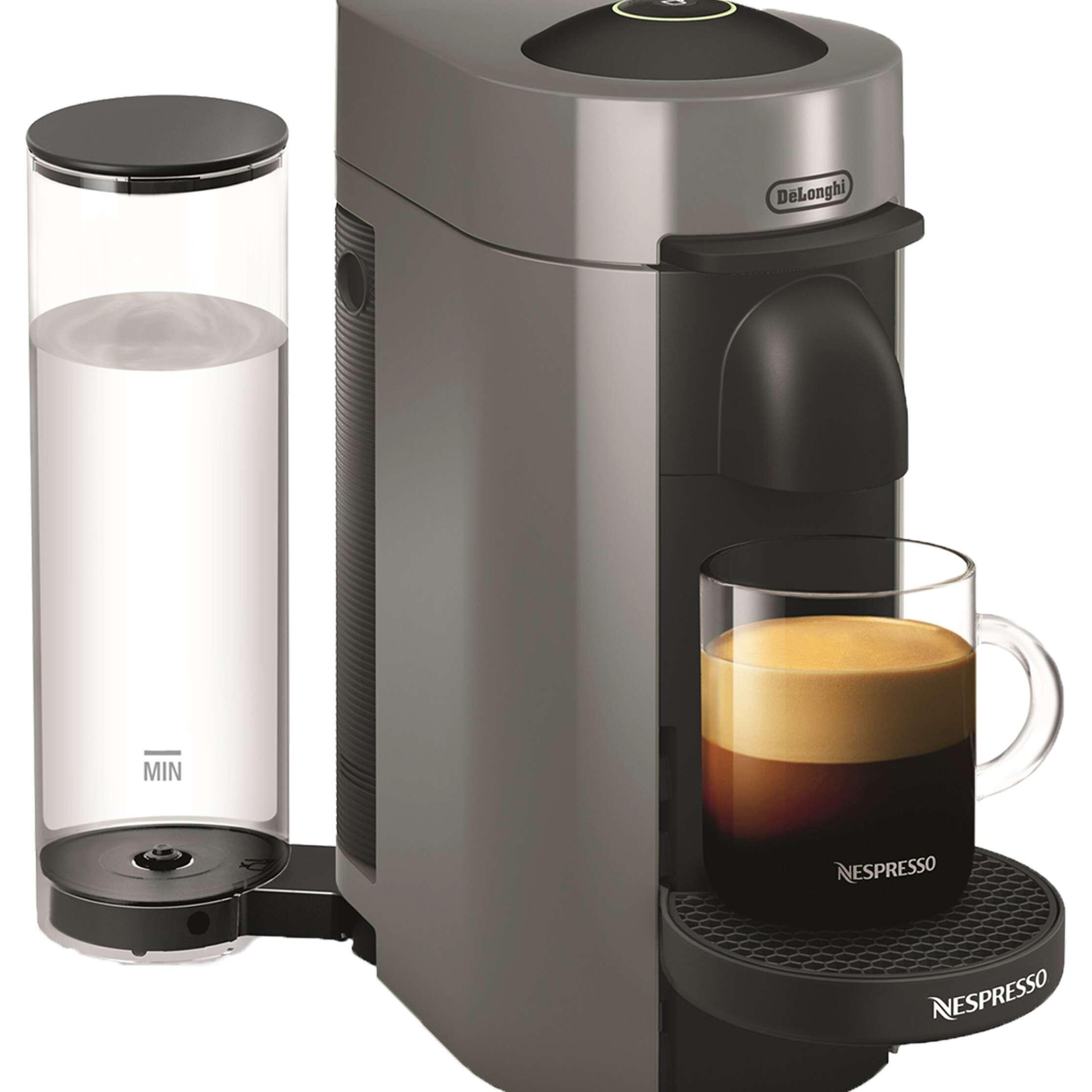 Nespresso VertuoPlus Coffee & Espresso Machine by DeLonghi