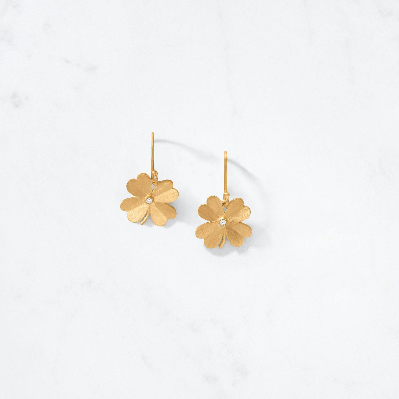 Auvere 4 Leaf Clover Earring $975