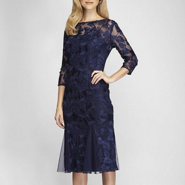 Alex Evenings Fit and Flare Dress