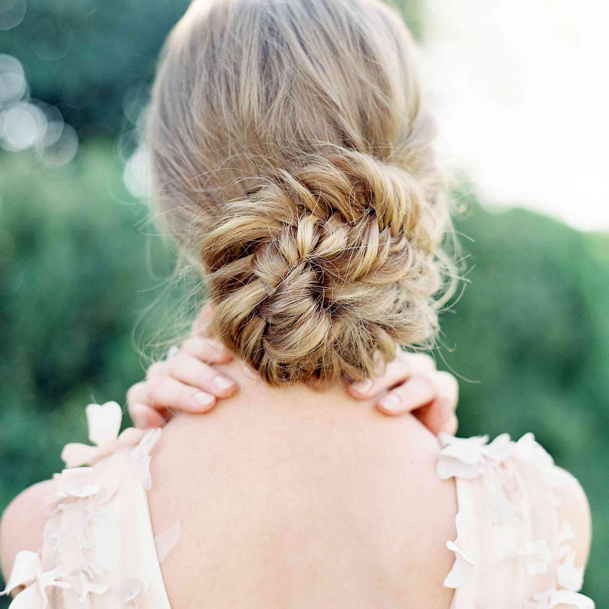 Loosely Wrapped Updo