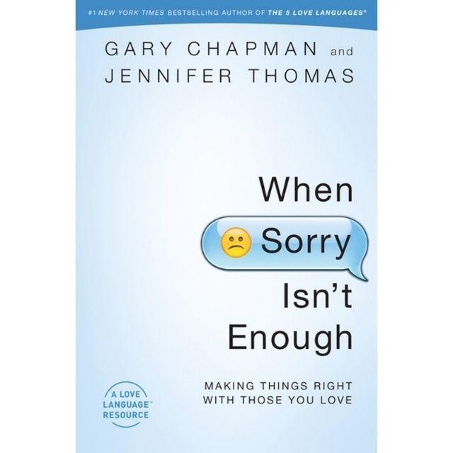 When Sorry Isn't Enough