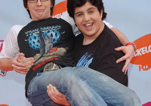 <p>Drake Bell and Josh Peck</p>