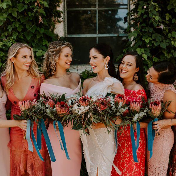 coral dresses