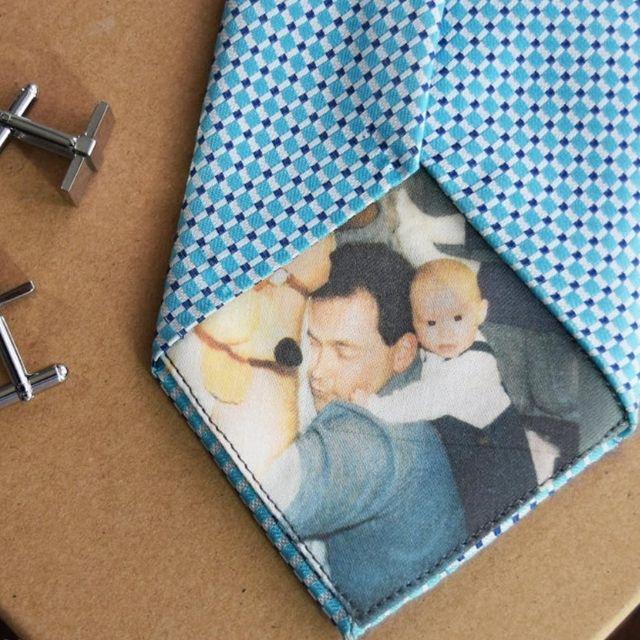 Custom Tie Patch Label