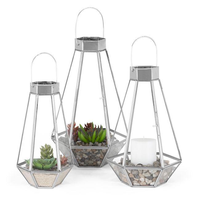 3 Outdoor/Indoor Lanterns
