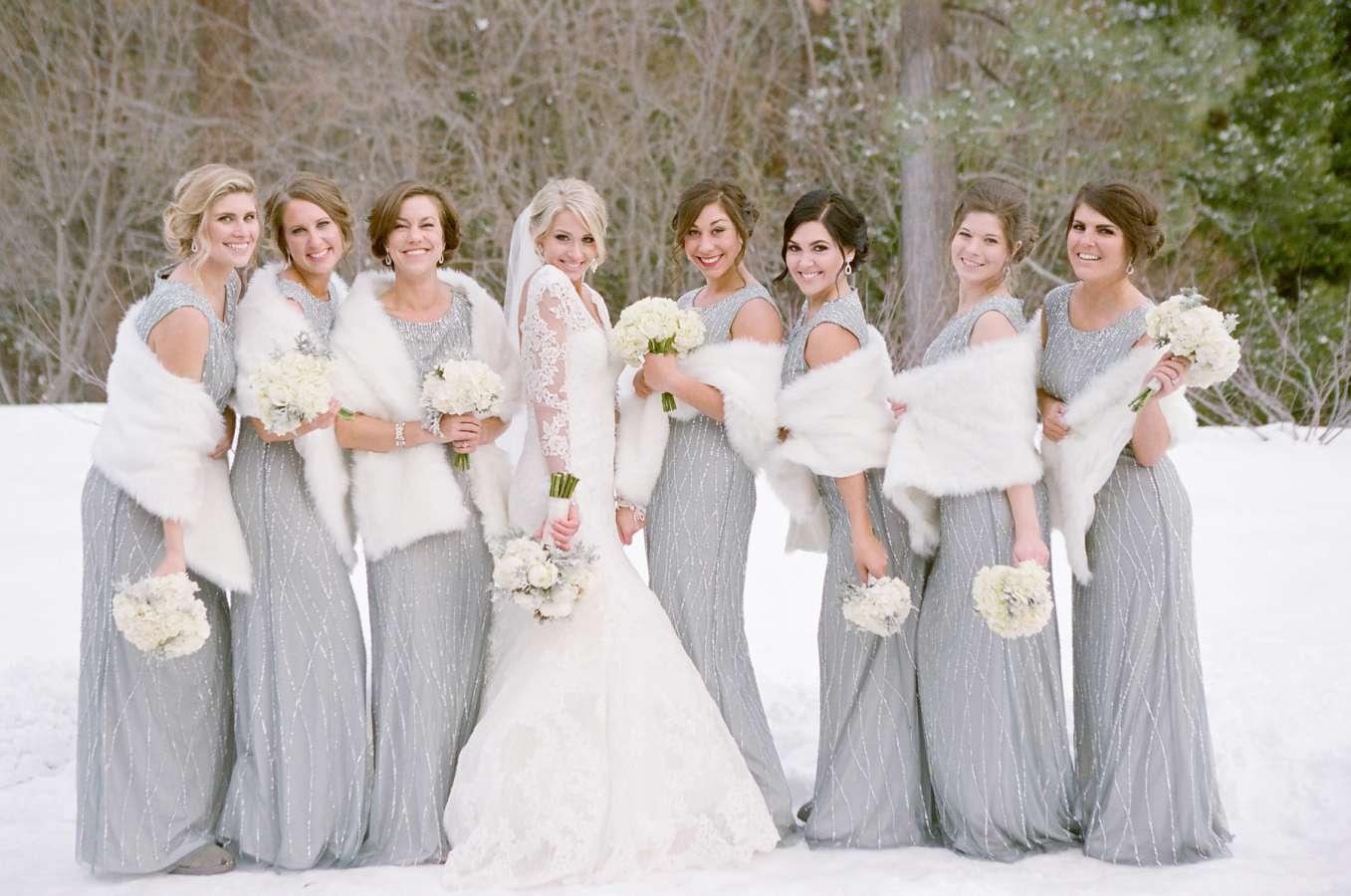 Winter Wedding Wear