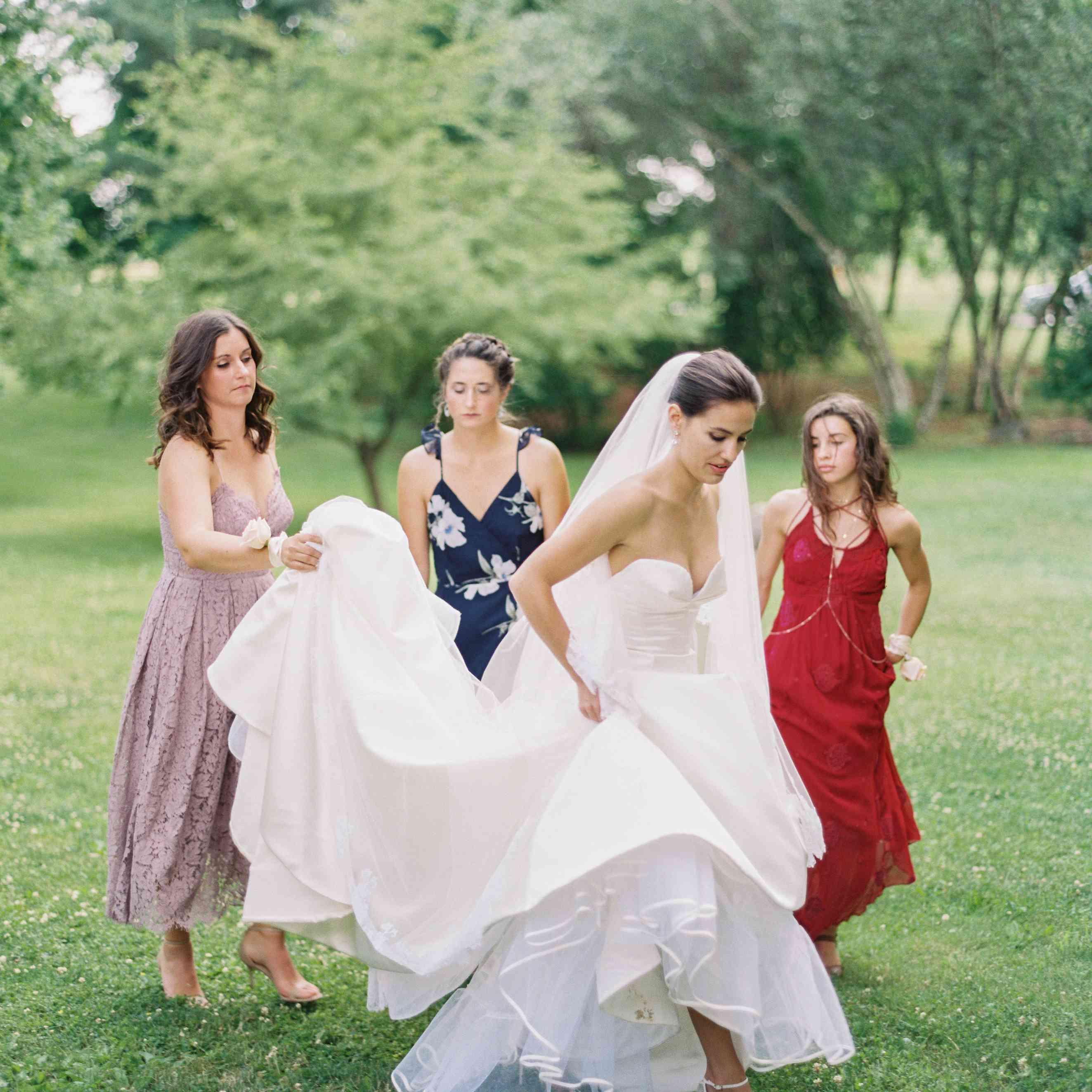 Breanne Racano in Austin Scarlett Wedding Dress