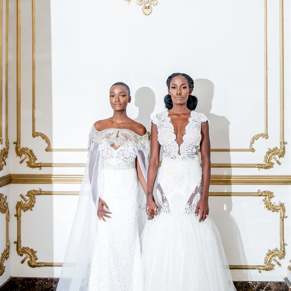 20 Black Wedding Dress Designers to Know