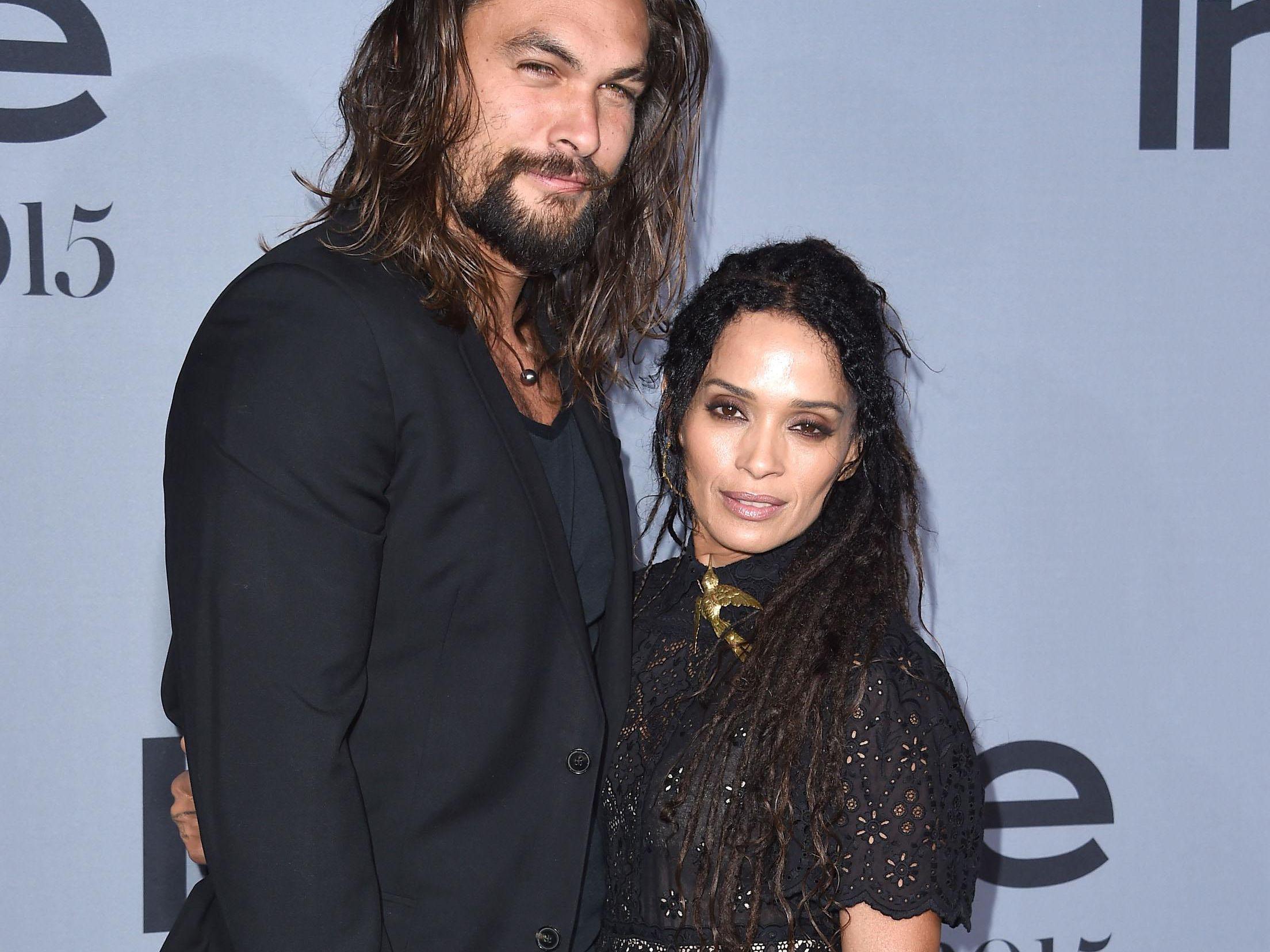 Lisa Bonet S Husband Jason Momoa Has Matching Rings With Her Ex Lenny Kravitz