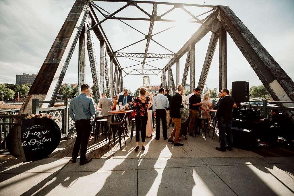 Cocktail hour on the bridge