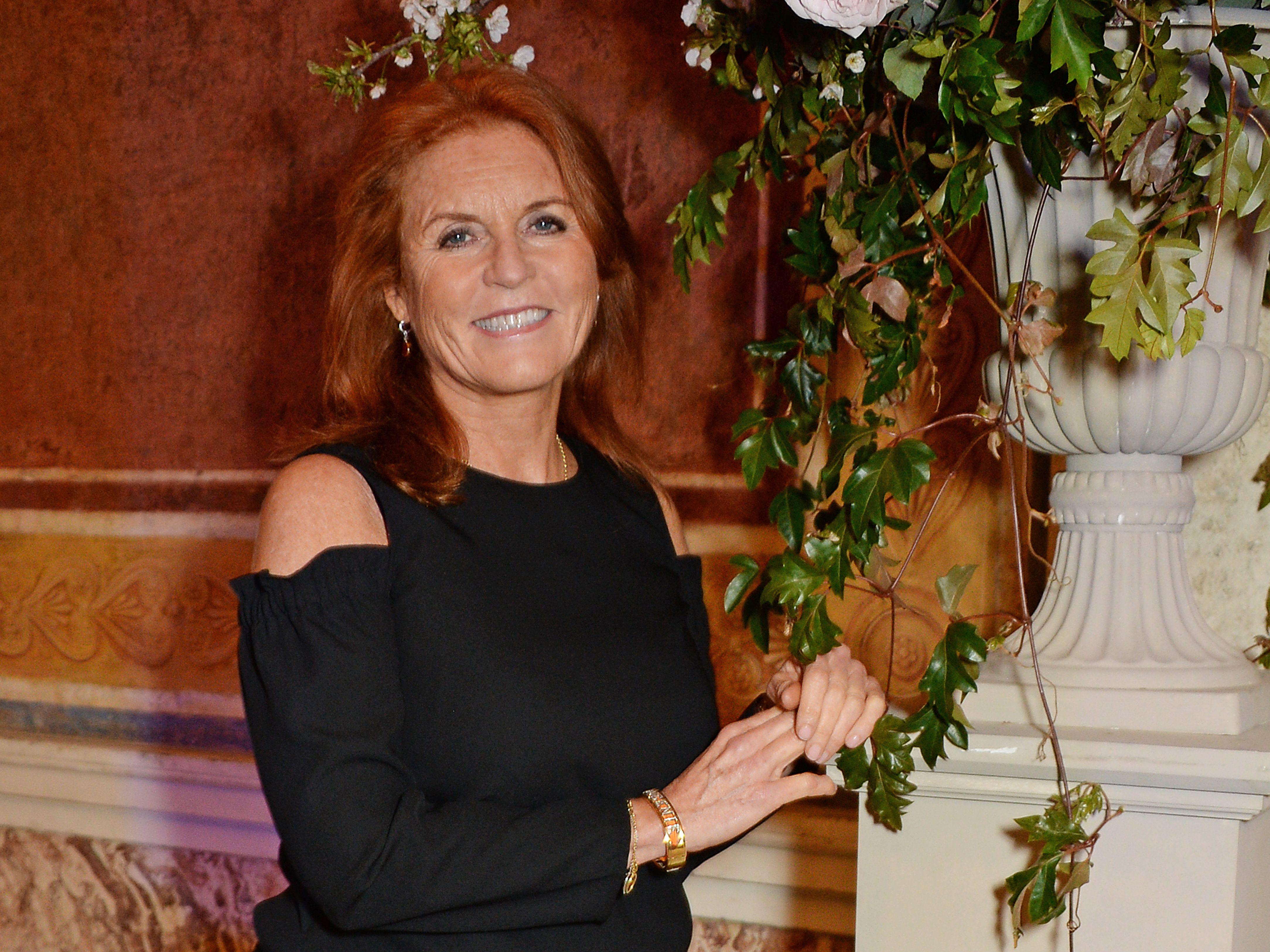 Royal Wedding Reception.Sarah Ferguson The Duchess Of York Was Reportedly Not Invited To