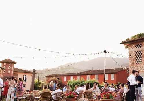 Rustic Italian wedding in Tuscany