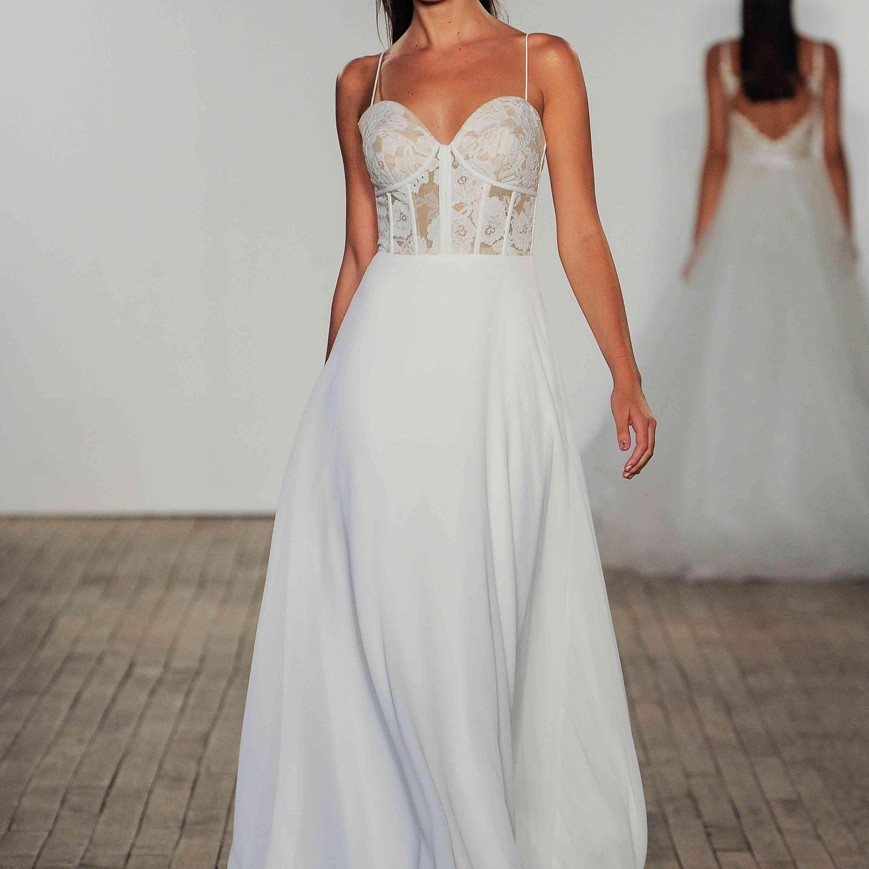 Liv Blush by Hayley Paige Wedding Dress