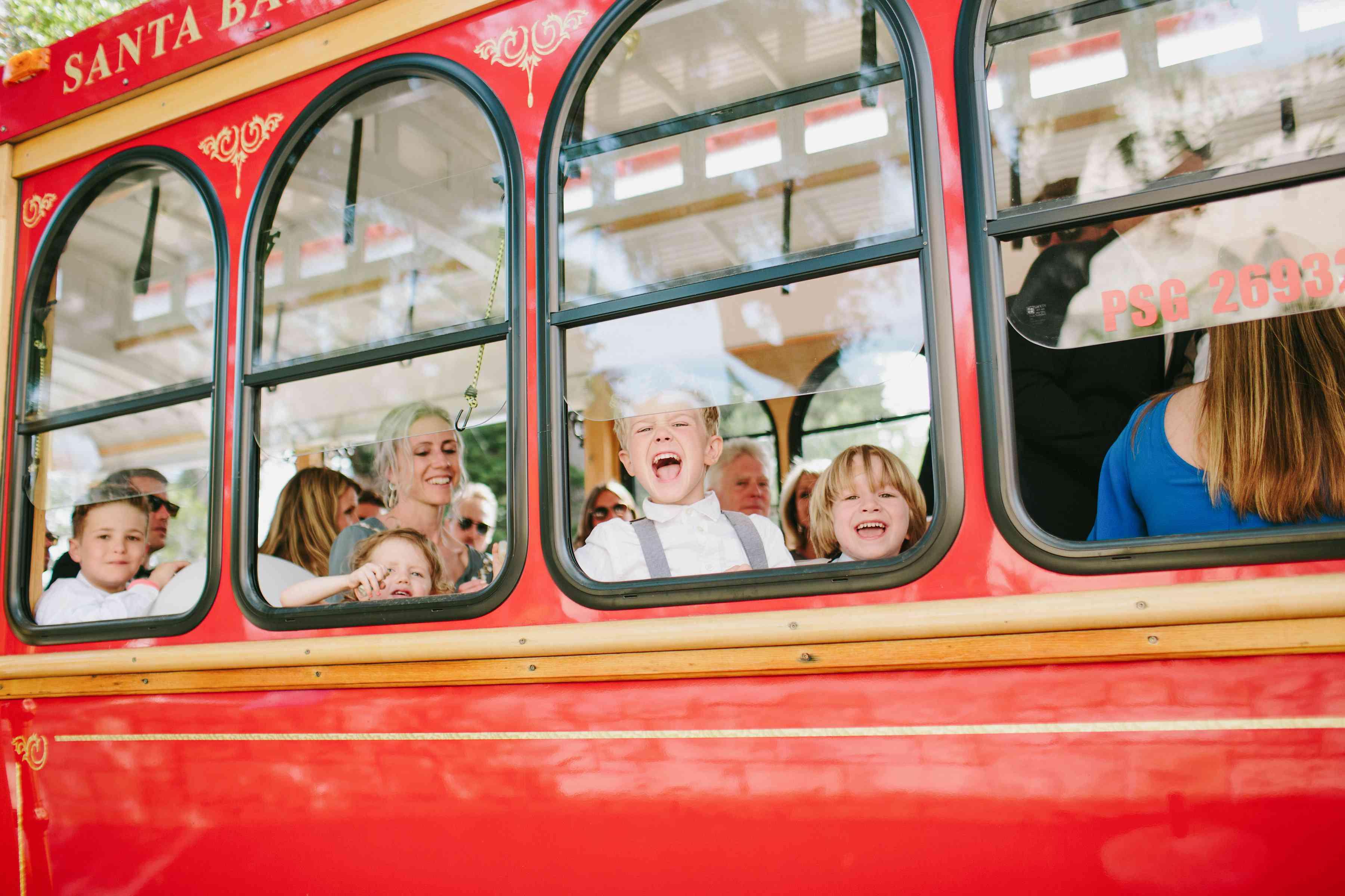 <p>trolly wedding transportation</p><br><br>