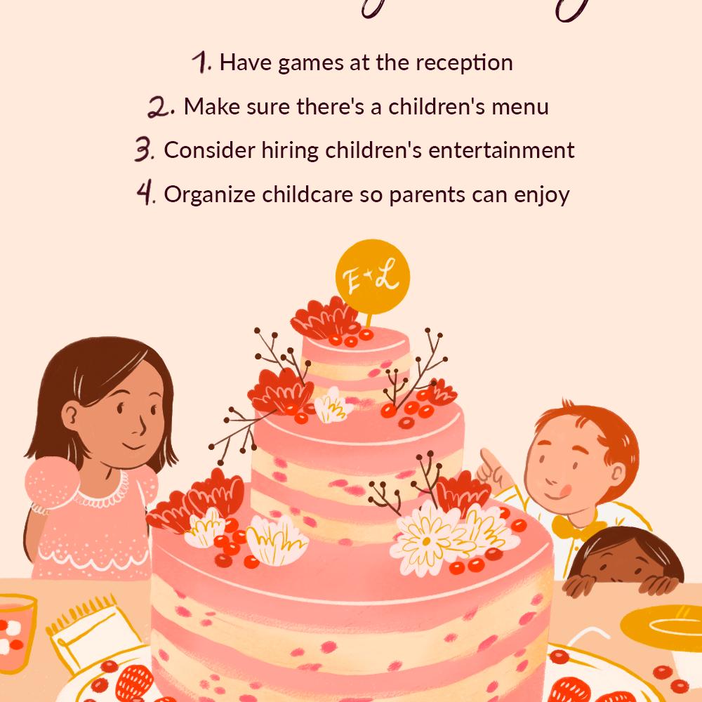 Tips for Kid-Friendly Weddings