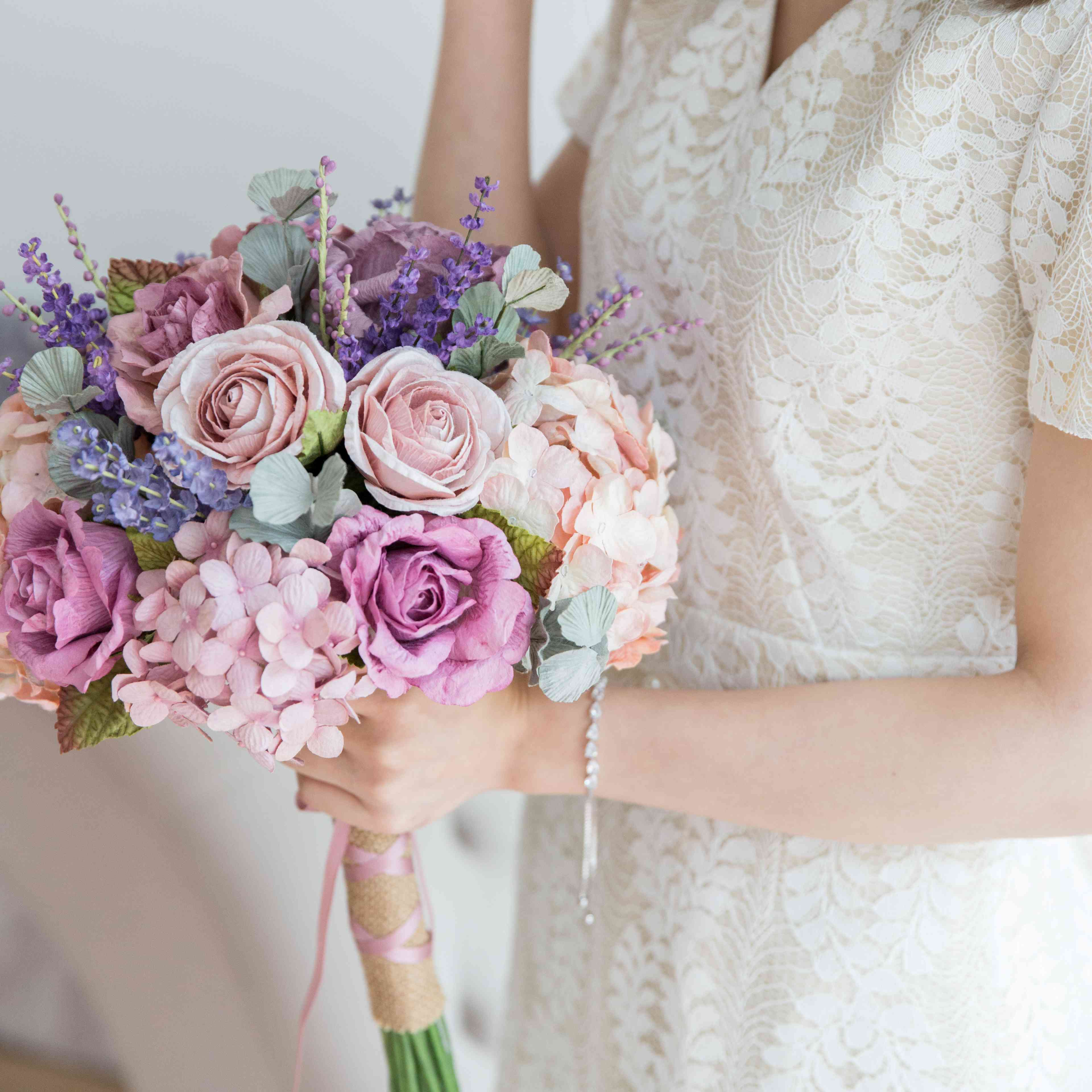 13 Diy Paper Flowers For The Nontraditional Bride
