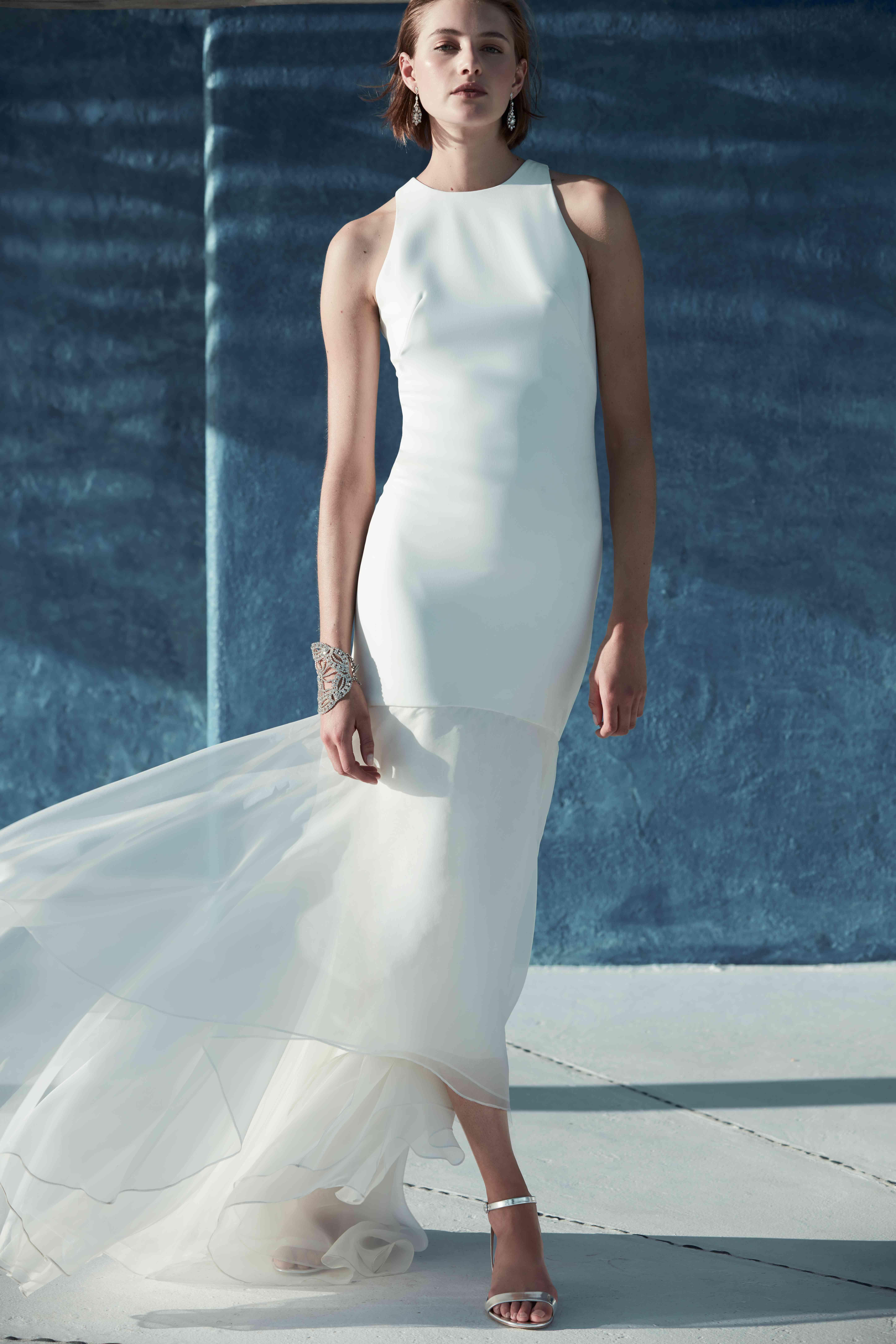11 Minimalist Wedding Dresses That Will Make Your 90s